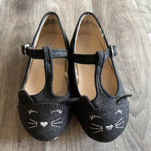 2/$15 Place Toddler Girls Cat Ballet Flats 6